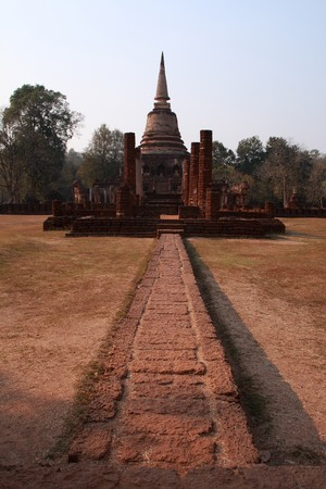 Ancient Sukhothai Stock Photo