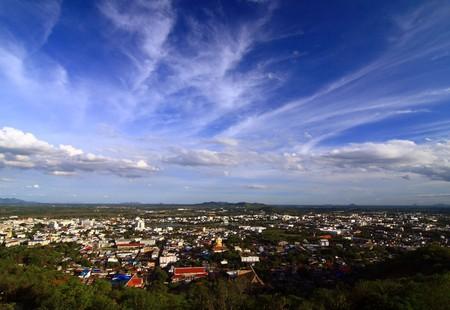 Landscape view village Nakhon Sawan, Thailand Stock Photo - 7912421