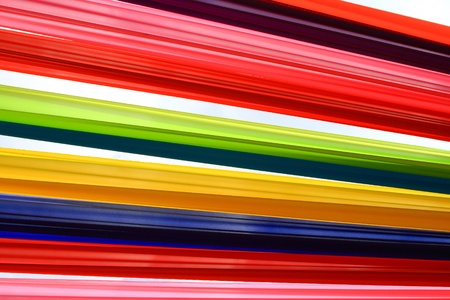 Multi-colored cloth tied together Stock Photo - 9495788