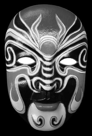 black and white mask isolated on black background Stock Photo - 9495961