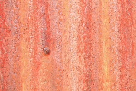 Old rusty galvanized sheet patterned background