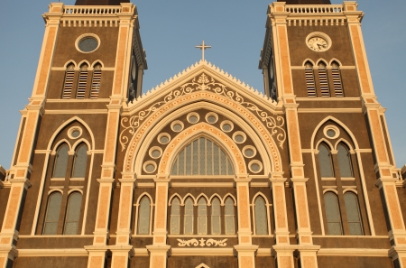 The Roman Catholic Church, Chanthaburi Province, Thailand. (The Cathedral of the Immaculate Conception) Stock Photo
