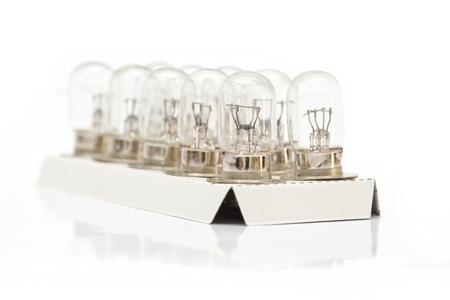 Light bulb isolated on white background Stock Photo - 18535203