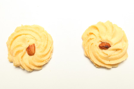 sweet cookie isolated on white background