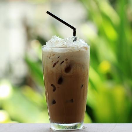 iced coffee: Thai ice coffee