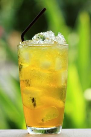 Chinese Thai herb juice, Chrysanthemum  Stock Photo