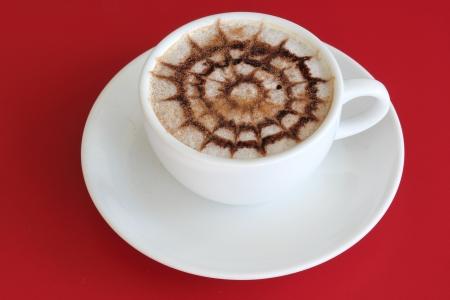 non alcoholic: Coffee Art Stock Photo
