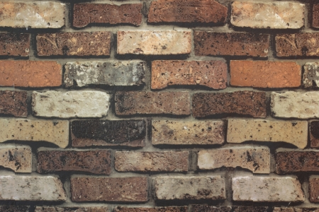 Brick Wall Texture Brick wall with some bricks lighter colored  Texture and background Horizontal Stock Photo - 20858444