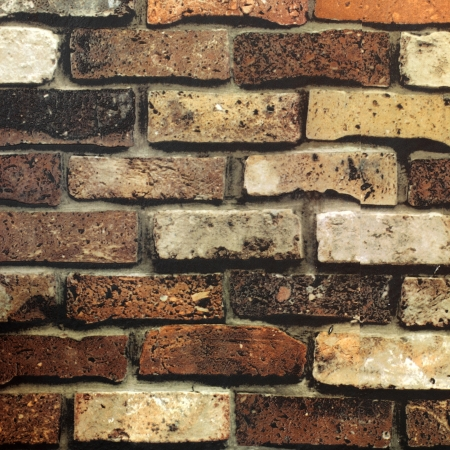 Brick Wall Texture Brick wall with some bricks lighter colored  Texture and background Square Stock Photo - 20858449