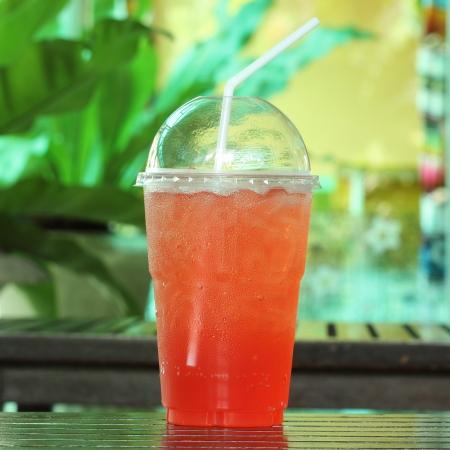 Italian soda Strawberry take home