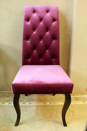 The purple chair Stock Photo - 21071928