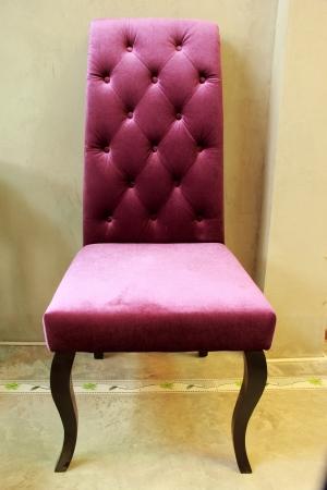 The purple chair Stock Photo - 21071928