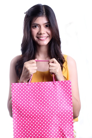 woman with shopping bags Stock Photo - 21365754