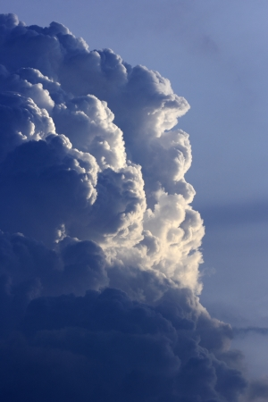 clound: Blue sky with a bund of clound