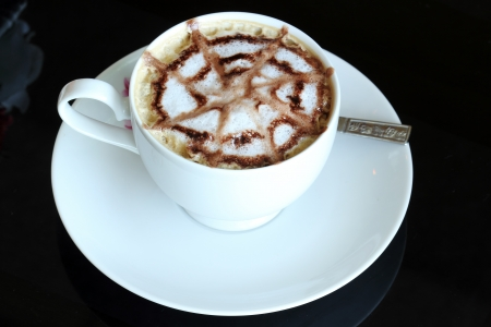 Latte Art   Coffee  photo