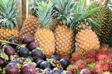 Tropical Thai fruits photo