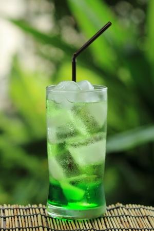 acqua di seltz: Frutta verde bibite con soda water