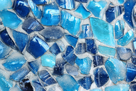 spangle: The colorful small rock texture of ceramic wall Stock Photo
