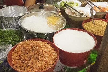 padthai: Ingredient for cooking Padthai (Thai fried noodle)