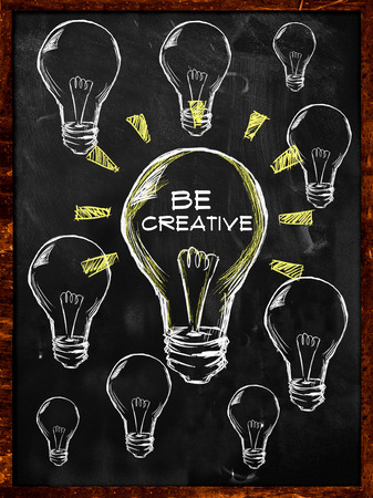 Be Creative Bulb Light photo