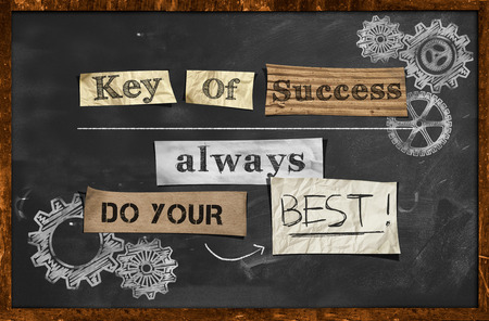 Do Your Best - Key Of Success photo
