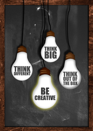 Think big , be creative photo