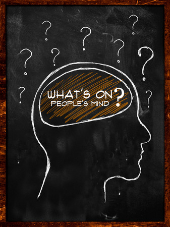 What s on people s mind  photo