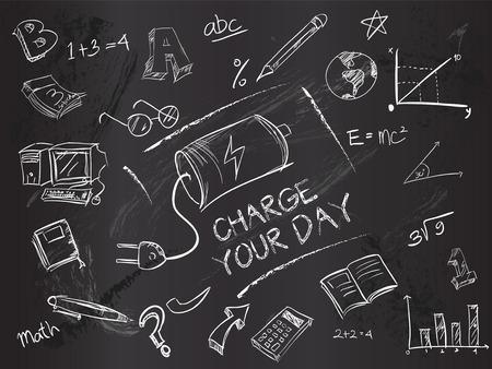 lading: Laad uw dag op blackboard