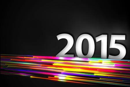 vj: 2015 di fondo linea retta Sfondo Arcobaleno Glow Scuro