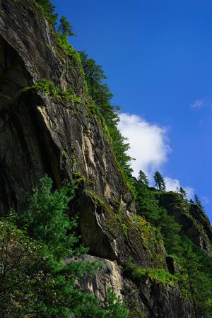 Green Cliff Phakding to Namche Bazaar, Everest Base Camp Trek, Nepal