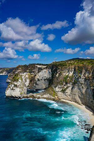 Nusa Batumategan Thousand Islands at Nusa Penida, Bali - Indonesia Фото со стока - 128300484