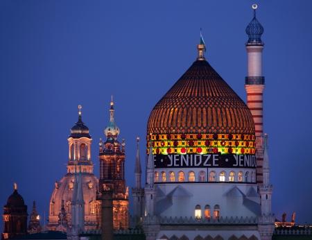 citycape of Dresden photo