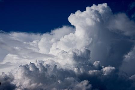 billow: a huge cloud Stock Photo