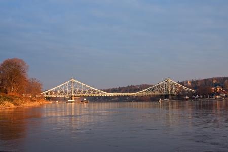 blue wonder in Dresden during the sunrise photo