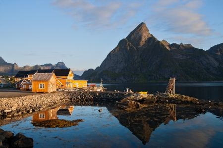 morning mood in Reine