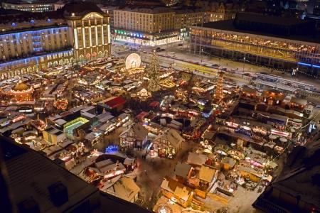 striezelmarkt: christmas in Dresden