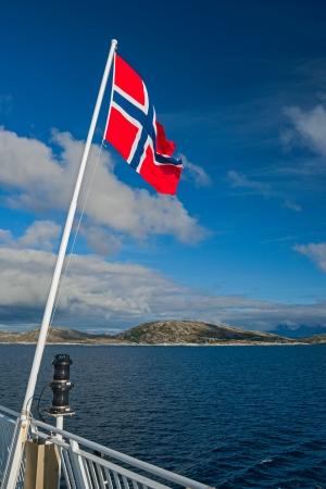 norwegian flag photo