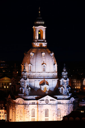 Frauenkirche in Dresden, of photo