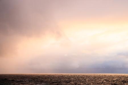 coastline: stormy coastline