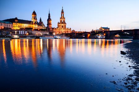 evening in Dresden photo