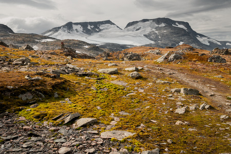 highlands: highlands in norway Stock Photo