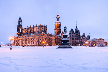wintertime in Dresden
