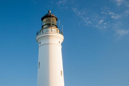 hirtshals: lighthouse of Hirtshals in denmark