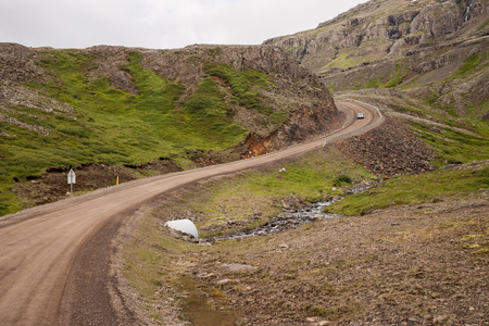 Oxi pass in Iceland