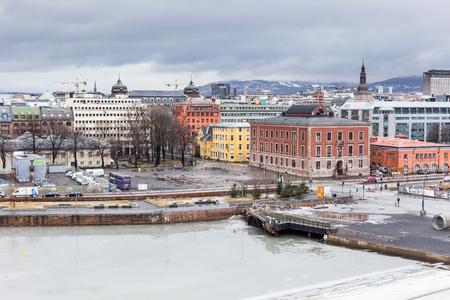 Cityscape of Oslo