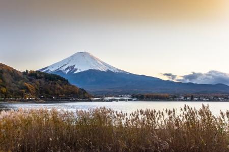 kawaguchi ko: Fuji moutain in japan