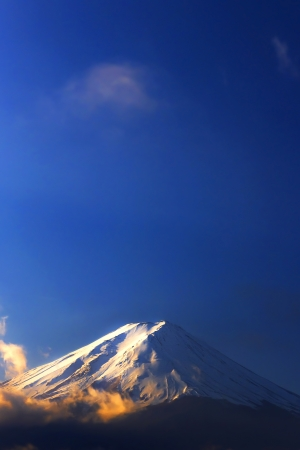 Fuji moutain in japan Stock Photo - 24035959