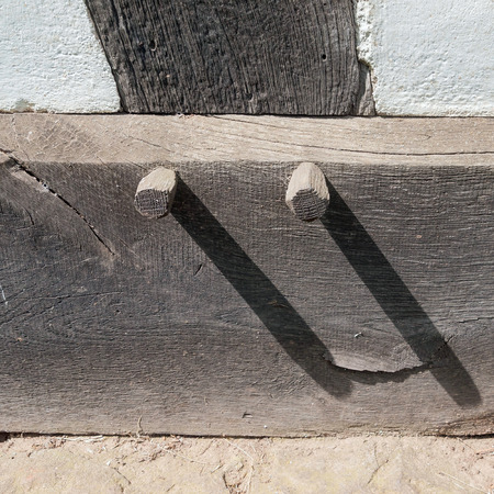 picture of the traditional footpoint at an old historic house