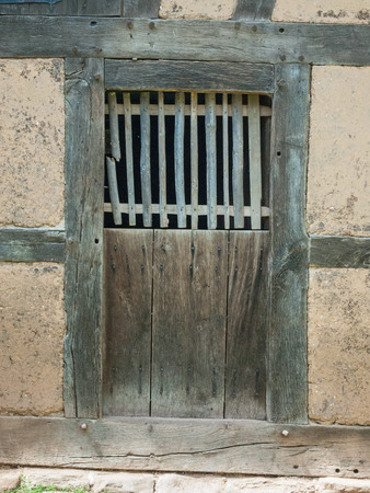 real old door to a stable