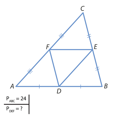 The task of finding the perimeter of a triangle